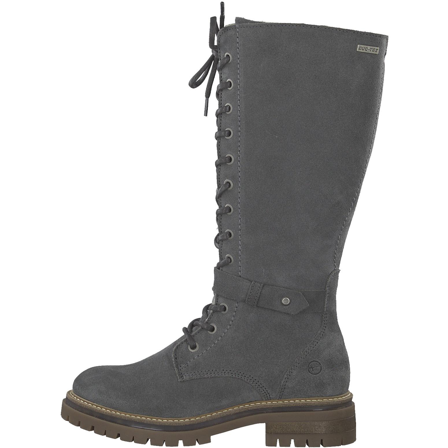 548ed21e9e61b Tamaris Damen Stiefel 1-26661-21-206 graphite grau