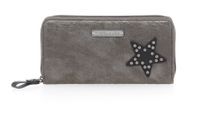 Tamaris JEM Big Zip Around Wallet Geldbörse 7130182-917 pewter comb. grau