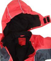 Kuscheliger Schneeanzug Skianzug rot atmungsaktiv und wasserdicht 5000mm 003