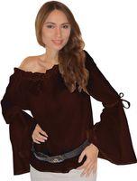 Mittelalter Bluse Elena reine Baumwolle Bild 4