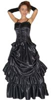 Kostüm Barock Kleid Heloise Gothic mit Handschuhen 002