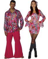 Hippie Kostüm 60er 70er Jahre Damen oder Herren