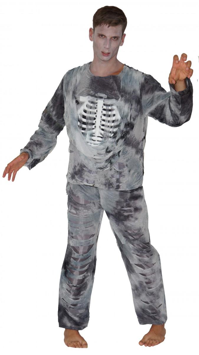 Zombie Kostüm Skelett Pirat Halloween Halloweenkostüme Herren