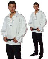 Piratenhemd Rüschenhemd Mittelalter Hemd Baumwolle Bild 2