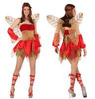 Kostüm Elfe Herbstfee OHNE Flügel