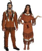 Kostüm Indianerin Indianer Indianerkostüm Noya und Nodyn