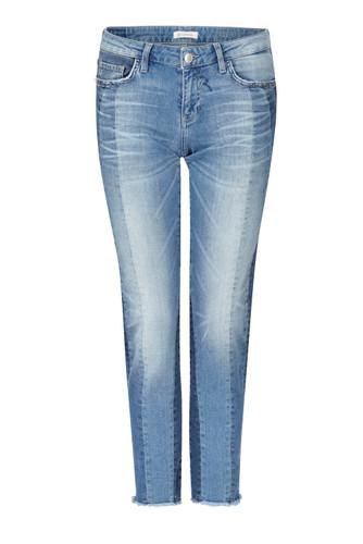Rich & Royal Midi Patchwork Jeans