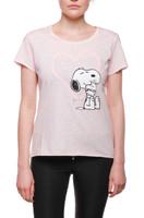 Onomato! Damen T-Shirt Snoopy 001