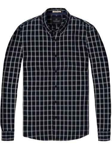 Scotch & Soda Oxford Karo Shirt