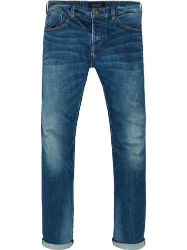 Scotch & Soda Herren Straight Jeans Vernon-Kimono Yes