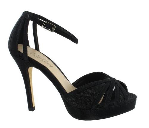 Menbur High Heel Sandaletten schwarz