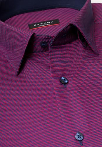 Eterna Langarm Hemd Modern Fit kariert – Bild 2
