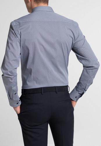 Eterna Langarm Slim Fit Hemd – Bild 5
