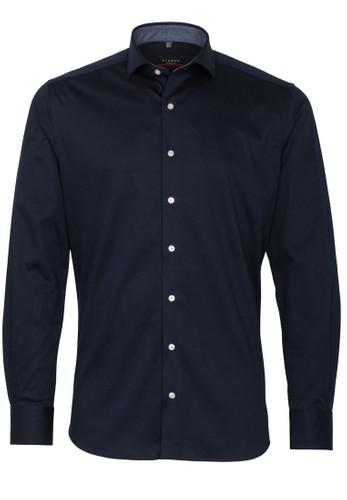 Eterna Jersey Langarm Hemd Modern Fit