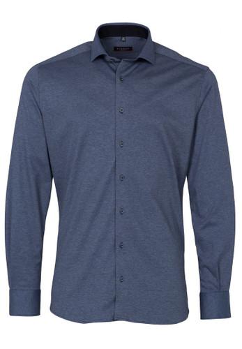 Eterna Langarm Jersey Hemd Modern Fit