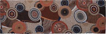 styleBREAKER Feinstrick Loop Schlauchschal mit Ethno Punkte African Style Muster, Schal, Damen 01017042 – Bild 16