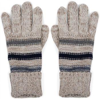 styleBREAKER warme Handschuhe mit Streifen, meliert mit doppeltem Bund, Strickhandschuhe, Fingerhandschuhe, Unisex 09010007 – Bild 4