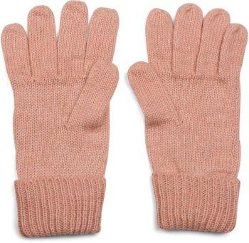 styleBREAKER warme Handschuhe mit Strass Nieten Stern Applikation und doppeltem Bund, Strickhandschuhe, Damen 09010008 – Bild 15
