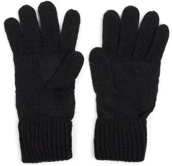 styleBREAKER warme Handschuhe mit Strass Nieten Stern Applikation und doppeltem Bund, Strickhandschuhe, Damen 09010008 – Bild 11
