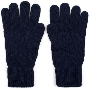 styleBREAKER warme Handschuhe mit Strass Nieten Stern Applikation und doppeltem Bund, Strickhandschuhe, Damen 09010008 – Bild 14