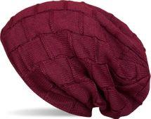 styleBREAKER warme Feinstrick Beanie Mütze mit Flechtmuster und sehr weichem Fleece Innenfutter, Unisex 04024096 – Bild 3