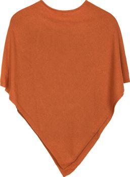styleBREAKER Damen Feinstrick Poncho in Unifarben, leicht asymmetrischer Schnitt, Ärmellos, Rundhals 08010042 – Bild 7