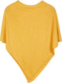 styleBREAKER Damen Feinstrick Poncho in Unifarben, leicht asymmetrischer Schnitt, Ärmellos, Rundhals 08010042 – Bild 16