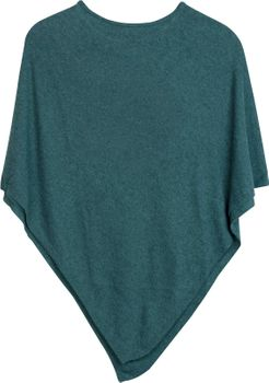 styleBREAKER Damen Feinstrick Poncho in Unifarben, leicht asymmetrischer Schnitt, Ärmellos, Rundhals 08010042 – Bild 17