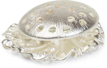 styleBREAKER Muschel Magnet Schmuck Anhänger mit Strass und Perlen für Schals, Tücher und Ponchos, Brosche, Damen 05050032 – Bild 5