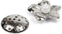 styleBREAKER Blüten Magnet Schmuck Anhänger mit Strass besetzt für Schals, Tücher oder Ponchos, Brosche, Damen 05050033 – Bild 10