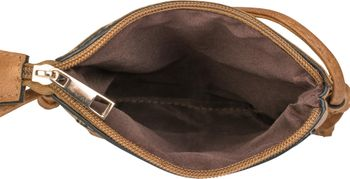 styleBREAKER Minibag Umhängetasche mit Blumen Cutout Muster und Nieten, Schultertasche, Tasche, Damen 02012127 – Bild 15