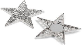 styleBREAKER Magnet Schmuck Anhänger Strass besetzt im Stern Design für Schals, Tücher oder Ponchos, Brosche, Damen 05050034 – Bild 5