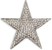 styleBREAKER Magnet Schmuck Anhänger Strass besetzt im Stern Design für Schals, Tücher oder Ponchos, Brosche, Damen 05050034 – Bild 2