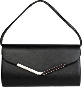styleBREAKER Clutch Abendtasche im Envelope Kuvert Design mit Zierleiste aus Metall und abnehmbarer Kette zum umhängen, Damen 02012131 – Bild 4