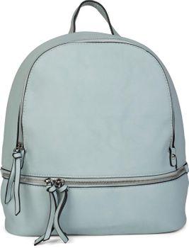 styleBREAKER Kunstleder Rucksack Handtasche mit Reißverschlüssen, edler Style, Tasche, Unisex 02012147 – Bild 10