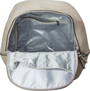 styleBREAKER Kunstleder Rucksack Handtasche mit Reißverschlüssen, edler Style, Tasche, Unisex 02012147 – Bild 13