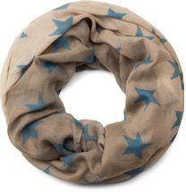 styleBREAKER Loop Schlauchschal mit Sterne Farbverlauf Muster, Schal, Tuch, Damen 01016125 – Bild 3