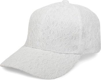 styleBREAKER 6-Panel Cap mit All Over Spitze, Baseball Cap, verstellbar, Damen 04023052 – Bild 2