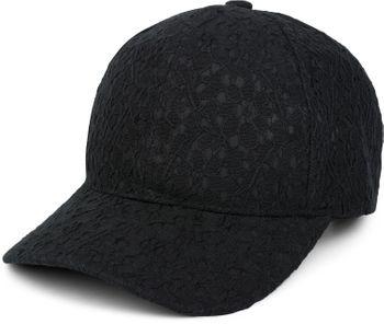 styleBREAKER 6-Panel Cap mit All Over Spitze, Baseball Cap, verstellbar, Damen 04023052