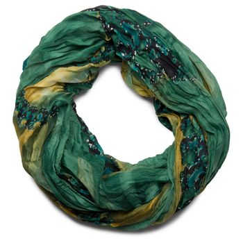 styleBREAKER loop tube scarf in maritime shell pattern, crash and crinkle, cloth 01018023 – Bild 15