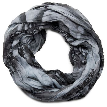 styleBREAKER loop tube scarf in maritime shell pattern, crash and crinkle, cloth 01018023 – Bild 14