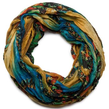 styleBREAKER loop tube scarf in maritime shell pattern, crash and crinkle, cloth 01018023 – Bild 11