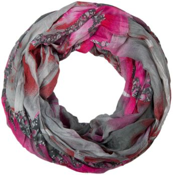 styleBREAKER loop tube scarf in maritime shell pattern, crash and crinkle, cloth 01018023 – Bild 4