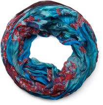 styleBREAKER loop tube scarf in maritime shell pattern, crash and crinkle, cloth 01018023 – Bild 16