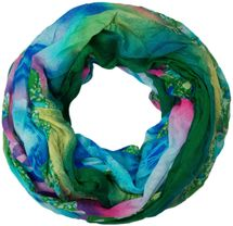 styleBREAKER loop tube scarf in maritime shell pattern, crash and crinkle, cloth 01018023 – Bild 13