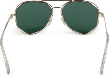 styleBREAKER Duochrome Effekt Sonnenbrille, Pilotenbrille mit eckigen Gläsern und Federscharnier, Unisex 09020068 – Bild 13