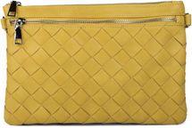 styleBREAKER Clutch Abendtasche in Flechtoptik mit Reißverschluss Fächern und abnehmbarem Schultergurt, Schultertasche, Tasche, Damen 02012154 – Bild 8