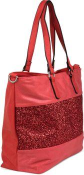 styleBREAKER edle Schultertasche Handtasche mit Pailletten Streifen und Metallic Optik, Shopper, Tasche, Damen 02012156 – Bild 21