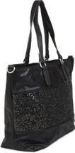 styleBREAKER edle Schultertasche Handtasche mit Pailletten Streifen und Metallic Optik, Shopper, Tasche, Damen 02012156 – Bild 19