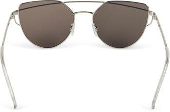 styleBREAKER Sonnenbrille mit Katzenaugen Cat Eye Gläsern und Doppelrahmen Bügel, Federscharnier, Damen 09020069 – Bild 10